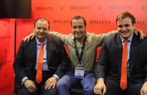 El Txoko del Sibarita desde la feria de Alimentaria (Barcelona) con la empresa Joselito
