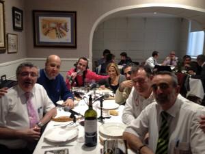 Programa en el restaurante Kirol en Bilbao