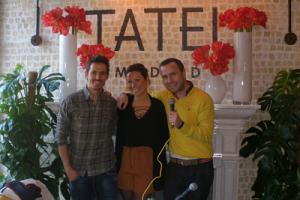 Programa en el restaurante Tatel de Madrid