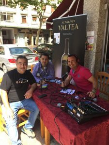 PROGRAMA DE RADIO DESDE EL BAR O'CARALLO EN VITORIA
